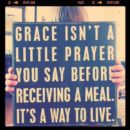 grace prayer before meals